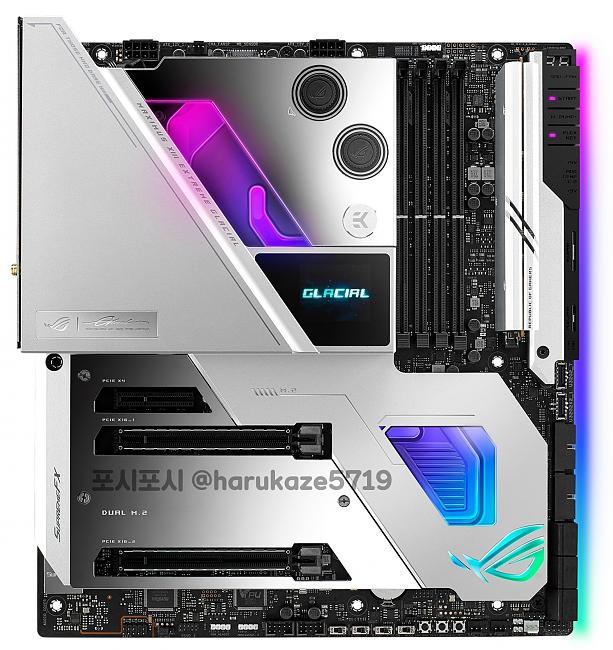 Click image for larger version.  Name:Asus Z590 XIII Extreme Glacial.jpg Views:3 Size:151.6 KB ID:87527