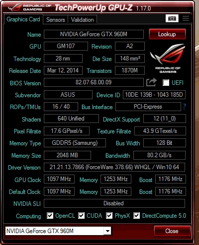 Click image for larger version.  Name:GPU Z SCREEN.jpg Views:184 Size:99.7 KB ID:62610