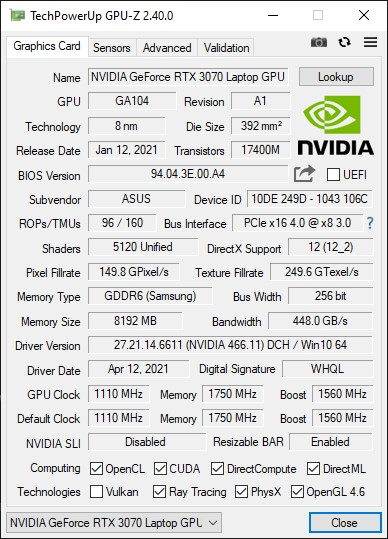 Click image for larger version.  Name:GPU-Z 2.40.0.jpg Views:0 Size:88.9 KB ID:88984