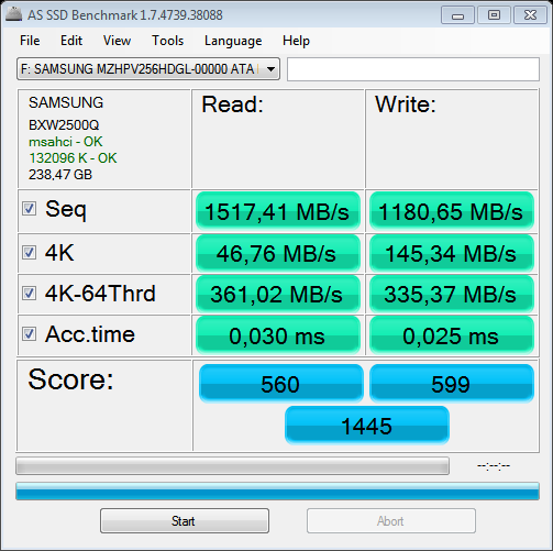 Click image for larger version.  Name:as-ssd-bench SAMSUNG MZHPV256 17.03.2015 12-18-08.png Views:217 Size:31.9 KB ID:47592