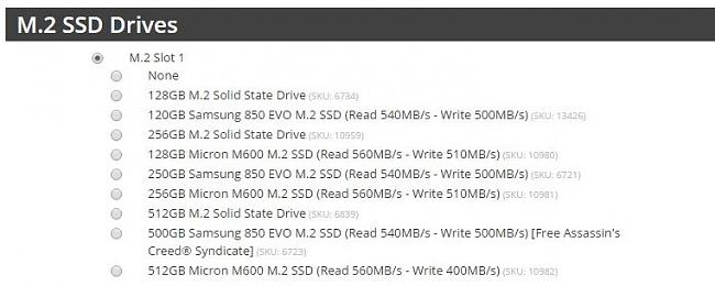 Click image for larger version.  Name:SSD Options.JPG Views:46 Size:72.5 KB ID:54515