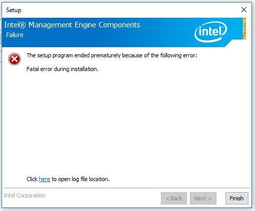 Click image for larger version.  Name:Chipset Failure Screen Cap.JPG Views:27 Size:32.1 KB ID:77845
