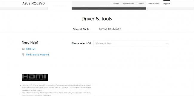 Click image for larger version.  Name:asus drivers.JPG Views:1 Size:93.3 KB ID:77642