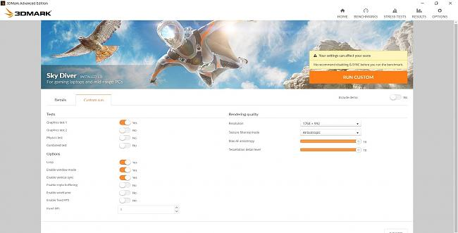 Click image for larger version.  Name:3DMARK settings.jpg Views:5 Size:250.0 KB ID:67200