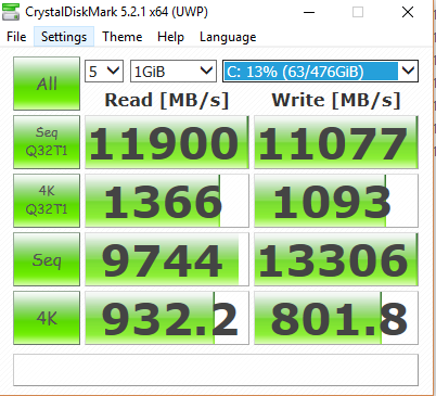 Click image for larger version.  Name:Samsung 960 Pro 512GB 07-16-17 with 4GB Ramcache II.PNG Views:149 Size:36.8 KB ID:66061
