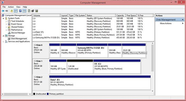 Click image for larger version.  Name:G750JH disk partitions.JPG Views:10 Size:137.6 KB ID:40800