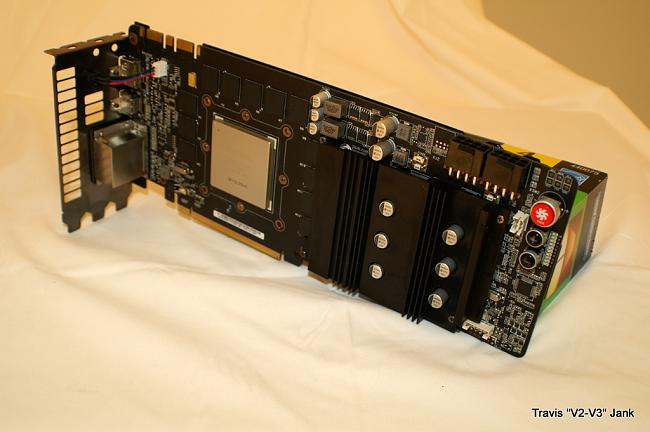 ASUS Matrix GTX 580 Platinum gpu cooler removed
