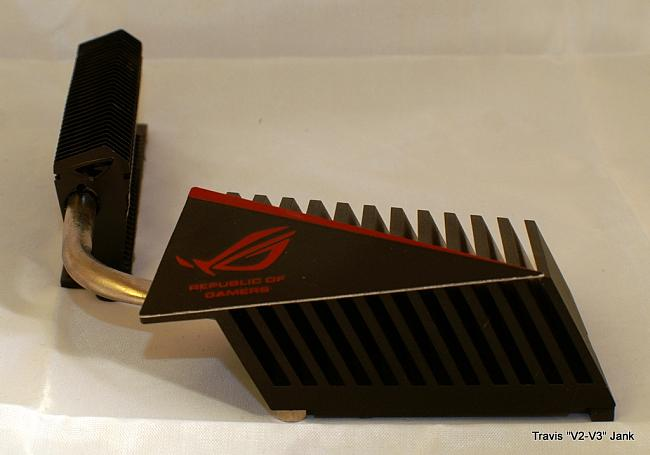 ASUS Rampage III Gene Motherboard heat pipe cooling system