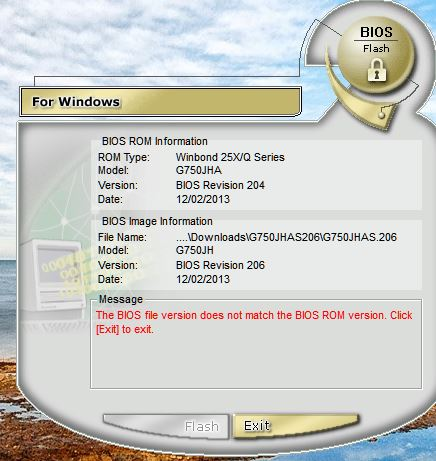 Click image for larger version.  Name:G750JH 206 bios through Winflash.JPG Views:156 Size:47.0 KB ID:44685