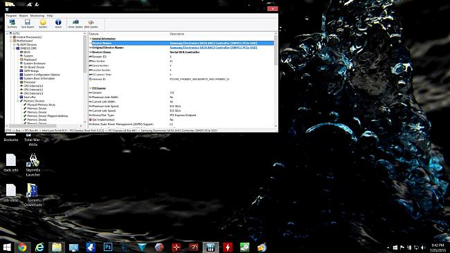 Click image for larger version.  Name:pci 3.0 for sm951 running under load.jpg Views:6 Size:335.5 KB ID:71268