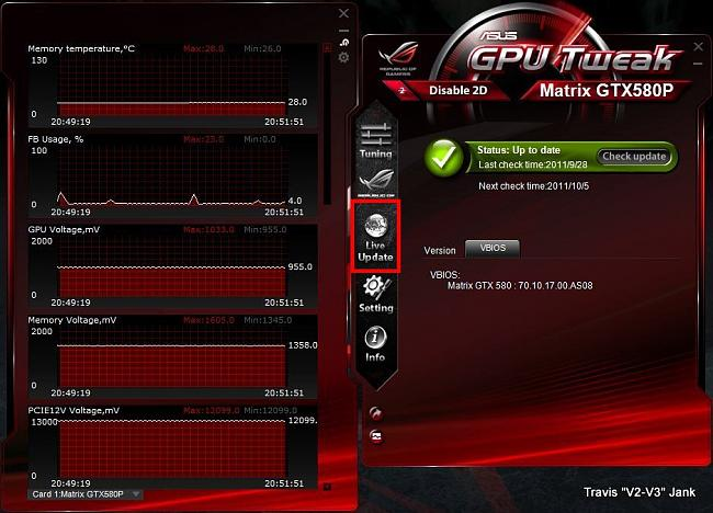 GPU Tweak VBIOS Live Update