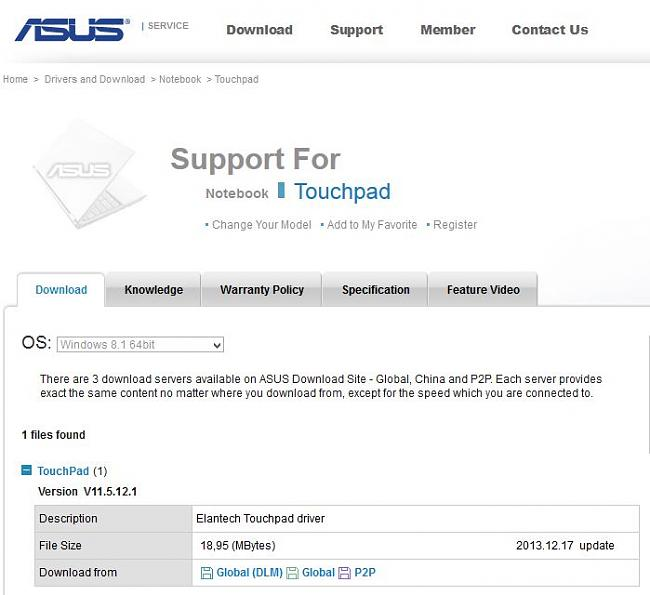 Click image for larger version.  Name:Asus touchpad driver download area.jpg Views:0 Size:48.0 KB ID:32508