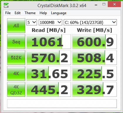 Click image for larger version.  Name:crystaldiskmark 256GB RAID0 high performance power plan and xtu enabled #5.JPG Views:147 Size:47.6 KB ID:47330