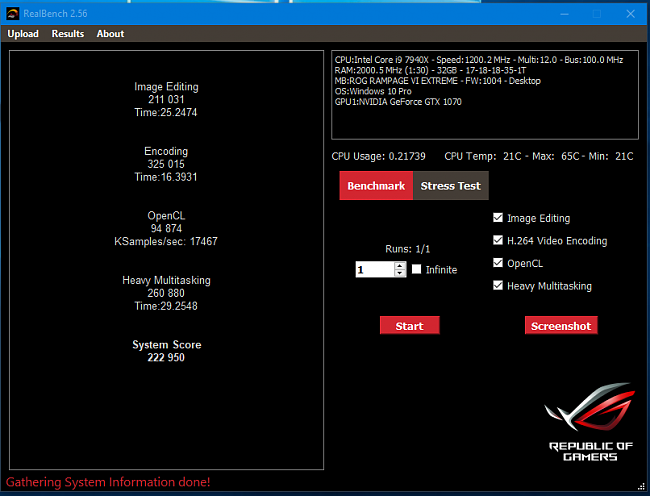 Click image for larger version.  Name:Realbench Benchmark.PNG Views:1 Size:47.4 KB ID:71514