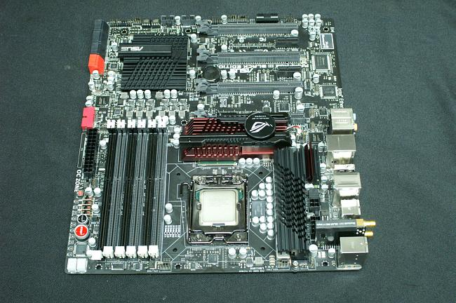 ASUS Rampage III Black Edition X58 Motherboard
