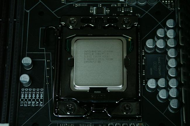 ASUS Rampage III Black Edition 1366 CPU Installation