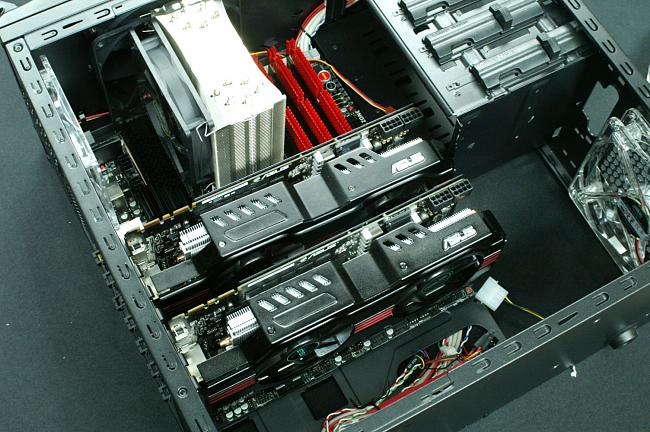 ASUS GTX580 Direct Copper II Installation into Chassis