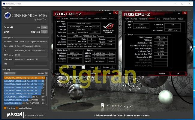 Click image for larger version.  Name:cinebench 15 Ryzen7 4.0GHz 3466 MAX.jpg Views:5 Size:219.2 KB ID:70816