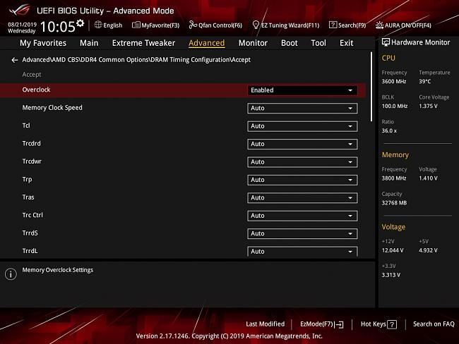 Click image for larger version.  Name:AMD CBS DRAM Timing Config.jpg Views:0 Size:135.2 KB ID:81538