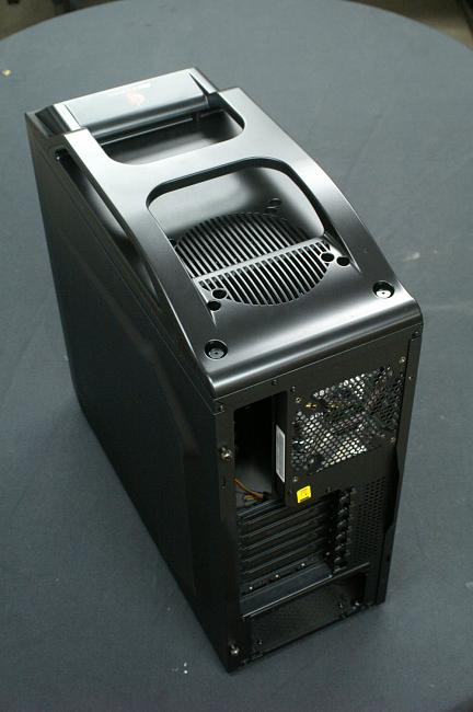 Coolermaster Storm Scout Case Rear I/O