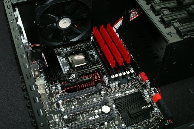 Installation of ASUS R3BE RAM Kit