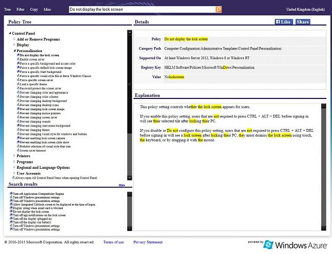 Click image for larger version.  Name:gpsearch site for cross referencing group policy with registry change.JPG Views:0 Size:156.1 KB ID:48318