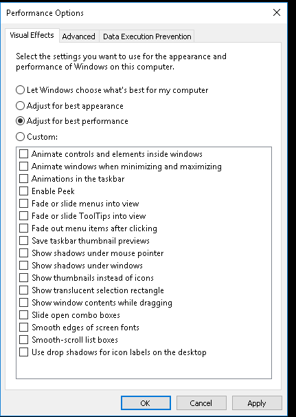 Click image for larger version.  Name:performance options.png Views:45 Size:14.4 KB ID:71008