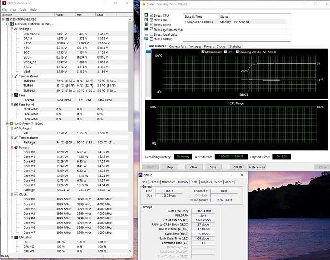 Click image for larger version.  Name:AIDA64 Temperatures and RAM clocks.jpg Views:43 Size:227.0 KB ID:63893