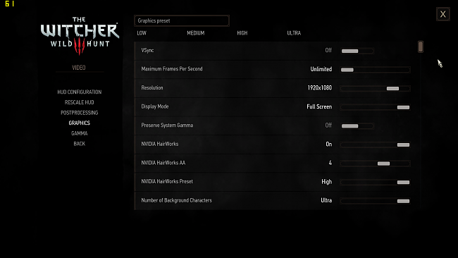 Click image for larger version.  Name:Witcher3_Settings1.png Views:2 Size:559.2 KB ID:67989