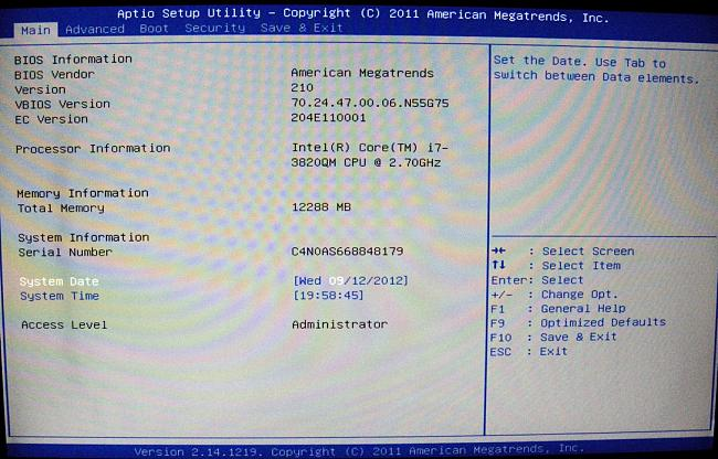 Click image for larger version.  Name:BIOS SCREEN G75VWs.JPG Views:12 Size:195.2 KB ID:11609