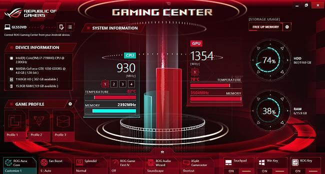Click image for larger version.  Name:ROG Gaming Center Temp Failure_2.JPG Views:0 Size:263.5 KB ID:79078