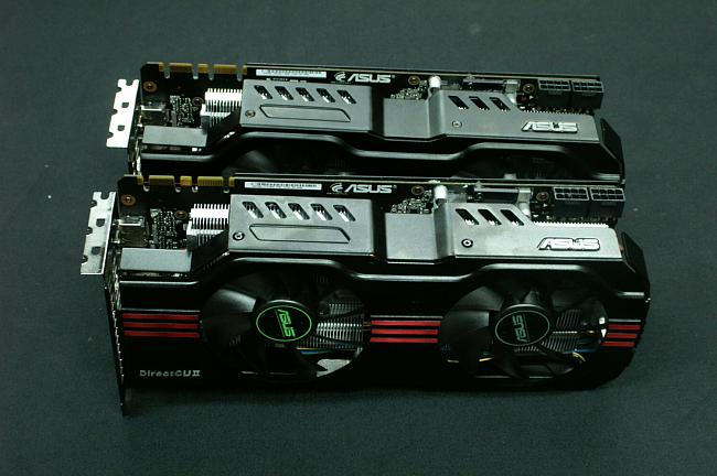 ASUS GTX580 Direct Copper II Graphics Cards