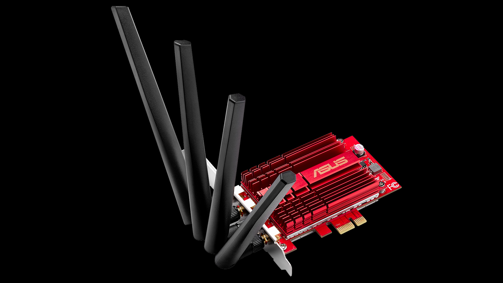 ASUS-PCE-AC88-dual-band-AC3100-Wi-Fi-PCIe-adapter---with-antennas