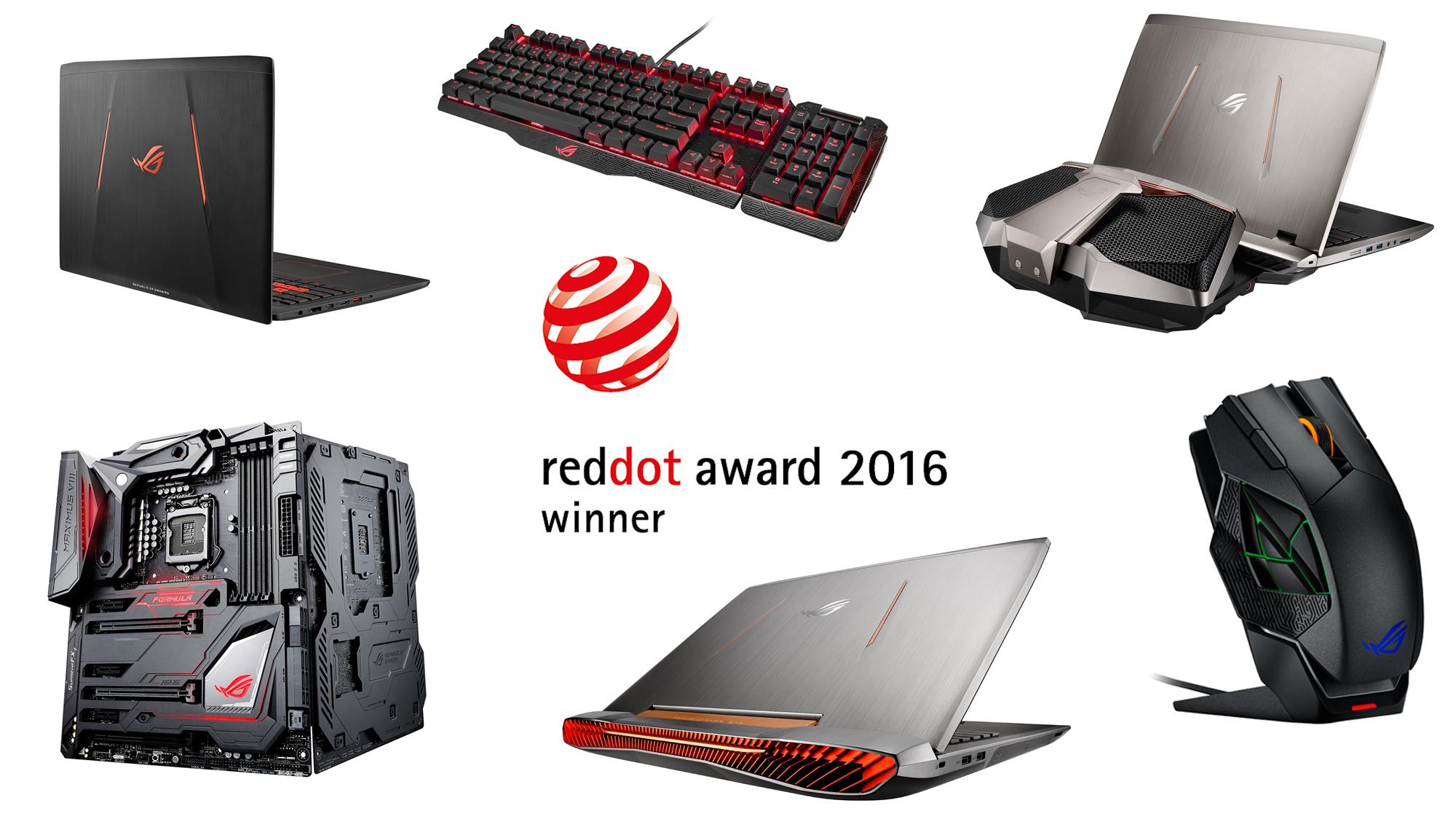 Red Dot Award Rog Republic Of Gamers Global