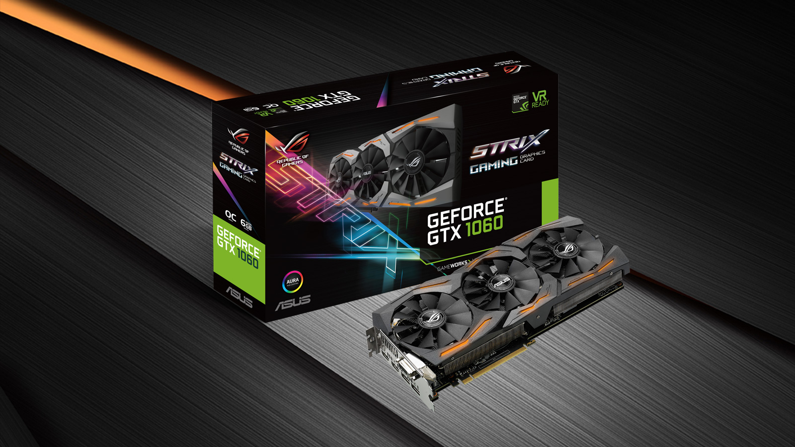 asus strix gtx 1060 6gb drivers