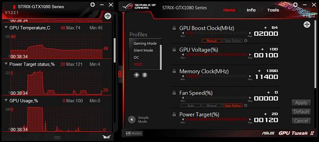 guide overclocking the rog strix gtx 1080 rog