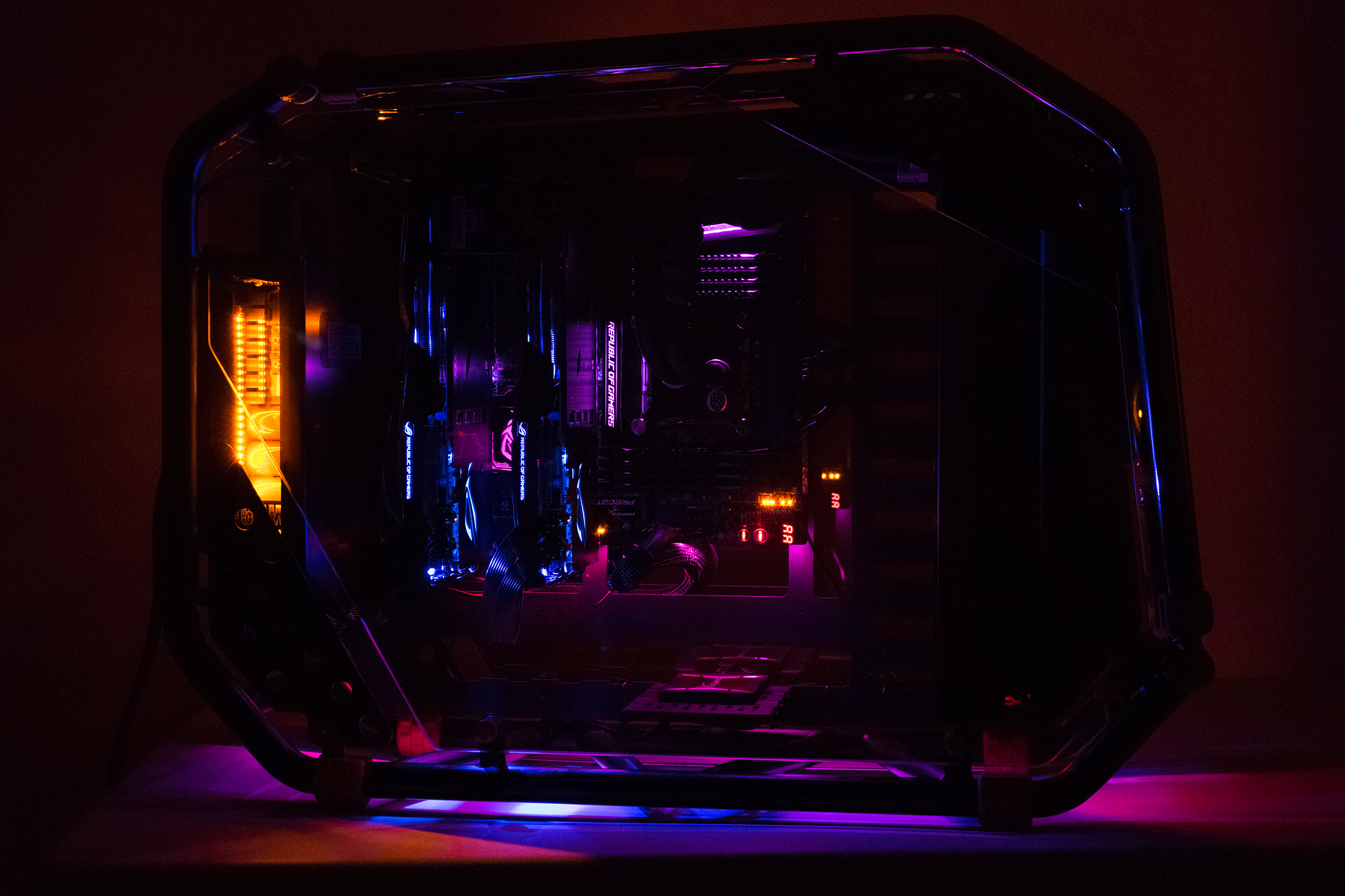 How to build the ultimate gaming pc with aura rgb lighting Ultimate lighting