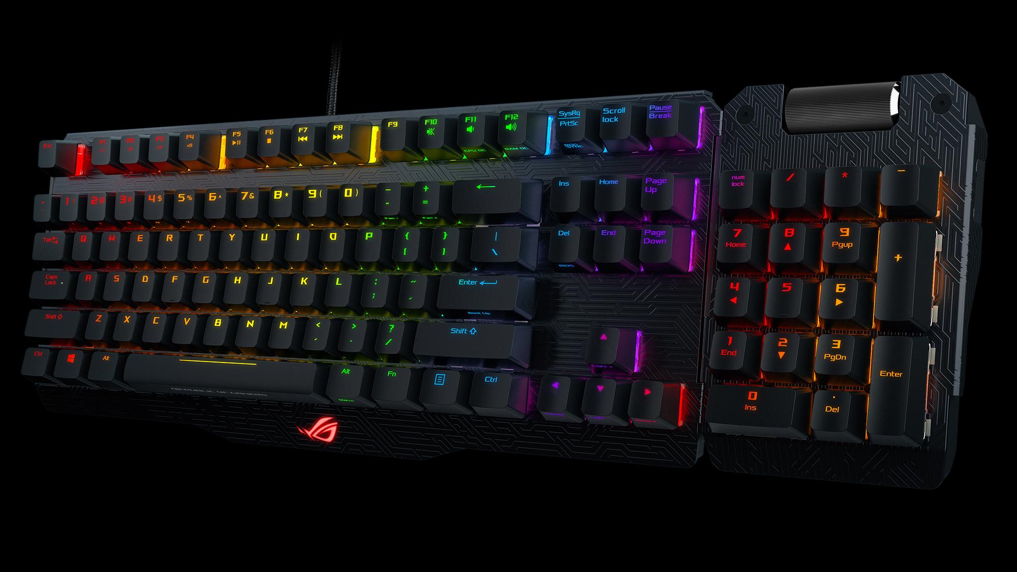 $160 Keyboards: Asus Claymore Versus Corsair K70 RGB LUX