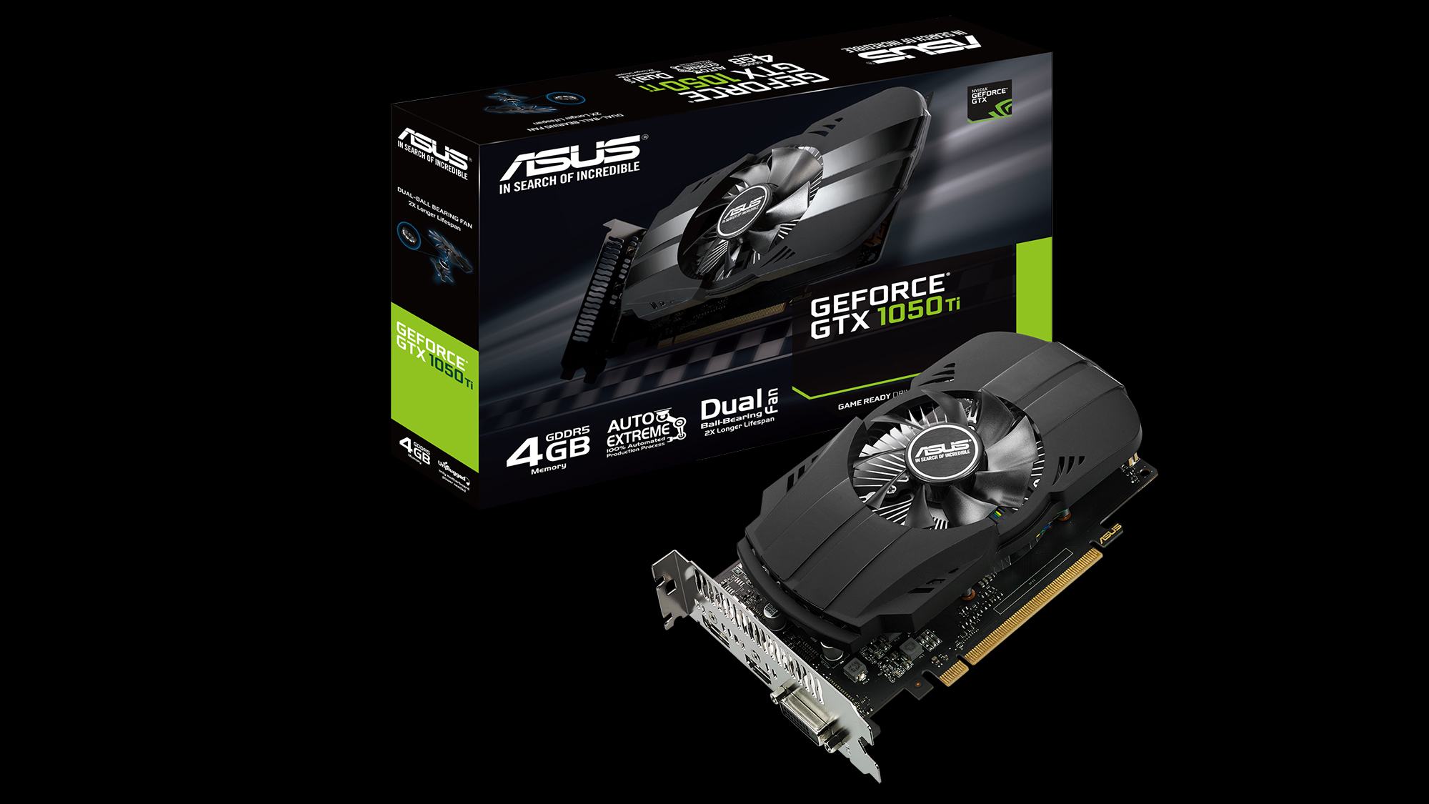 Asus Announces Latest Line Up Of Graphics Cards Powered By Nvidia Inno 3d Gtx 1050ti 4gb Ddr5 Compact Ph Gtx1050ti 4g 2000x1125
