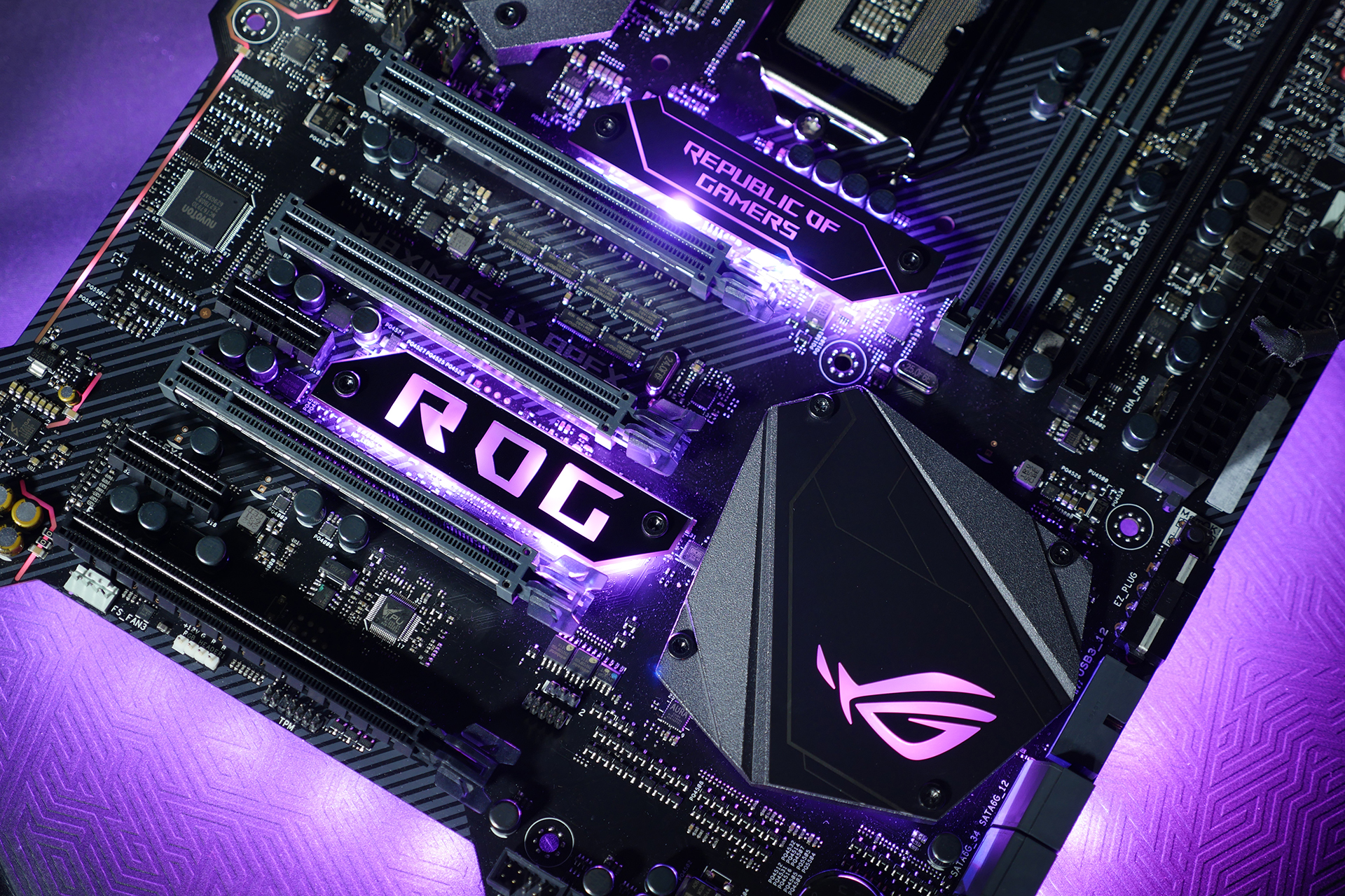 Press Release Rog Unveils Latest Maximus Ix And Strix Gaming Apex Wiring Solutions Ltd 4 Nameplate1