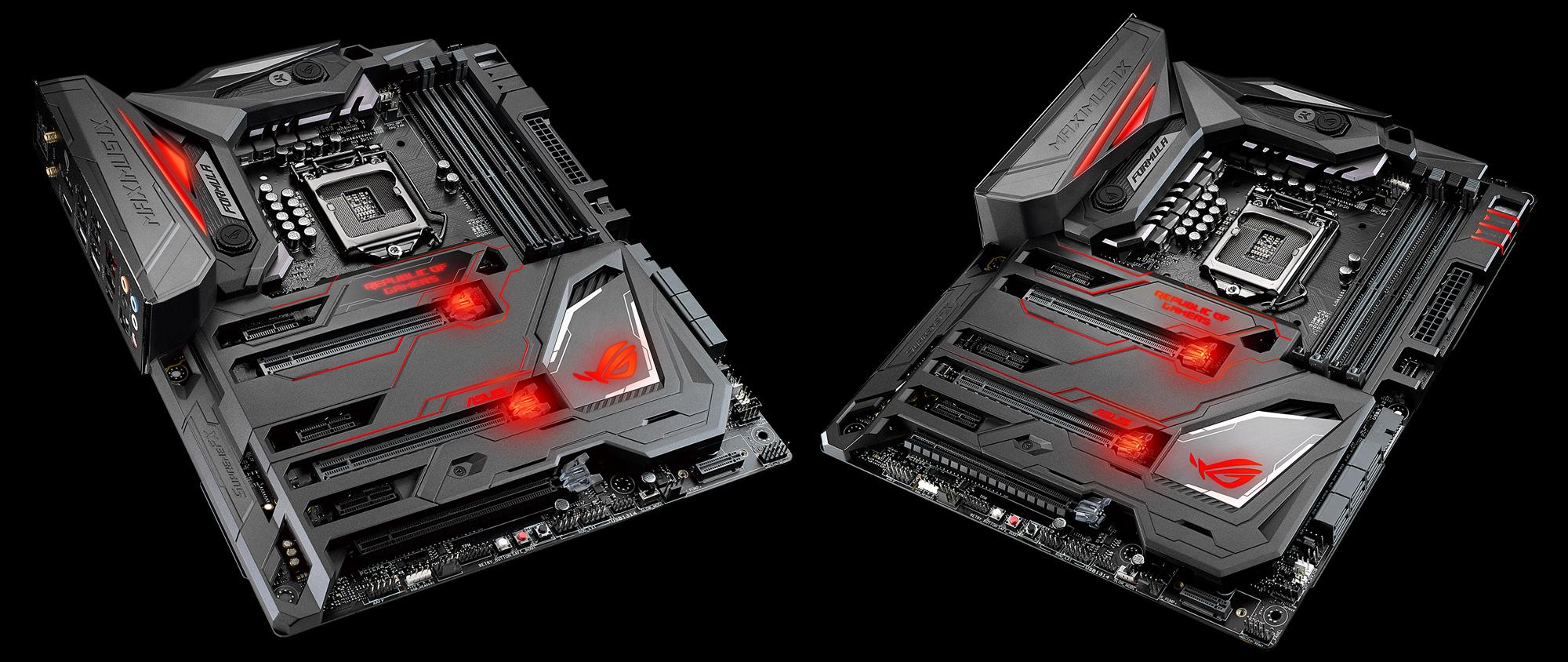 ROG Maximus IX Formula Estas son las nuevas motherboards Z270 de ASUS
