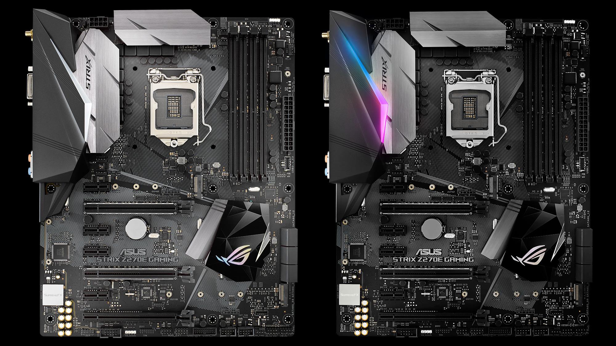 ROG Strix Z270E Gaming Estas son las nuevas motherboards Z270 de ASUS