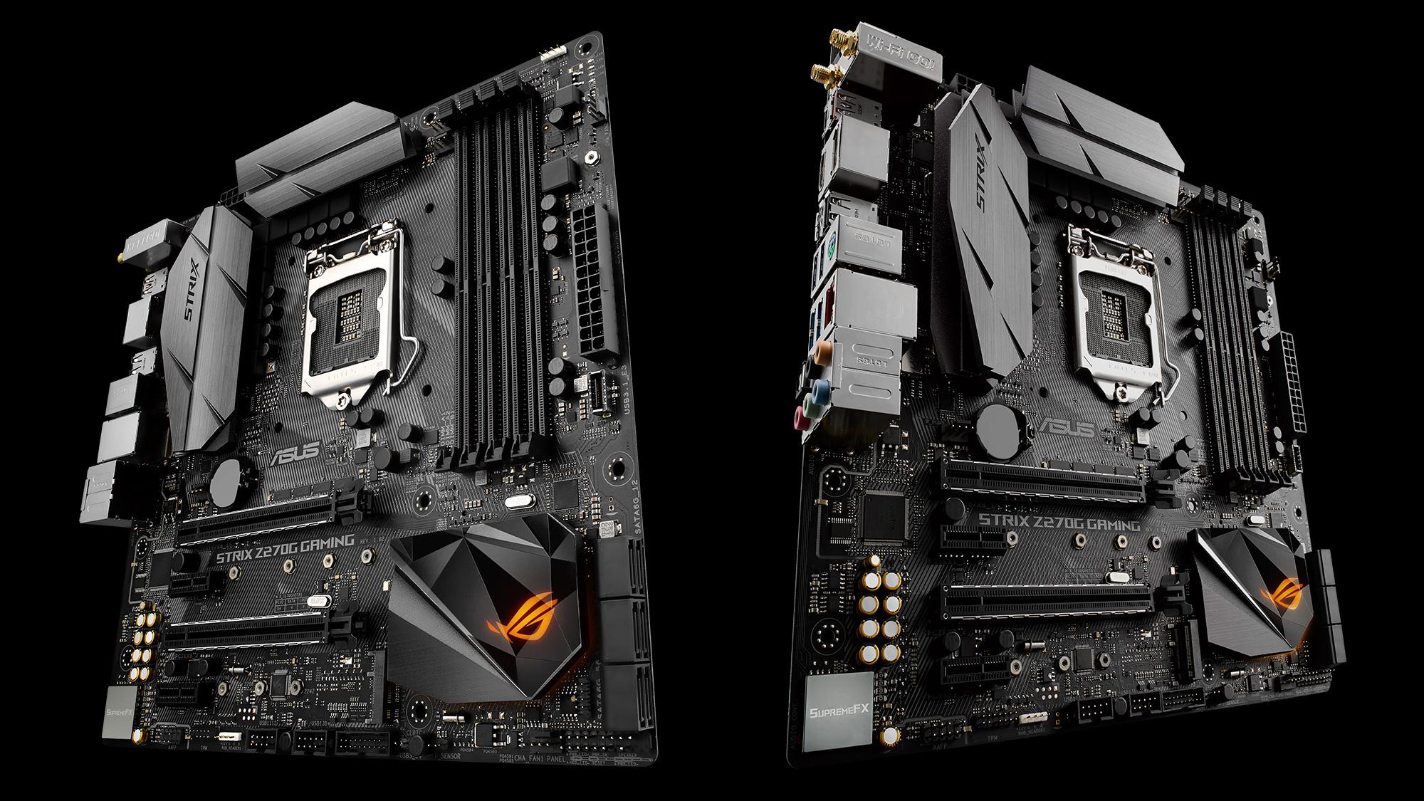 ROG Strix Z270G Gaming Estas son las nuevas motherboards Z270 de ASUS