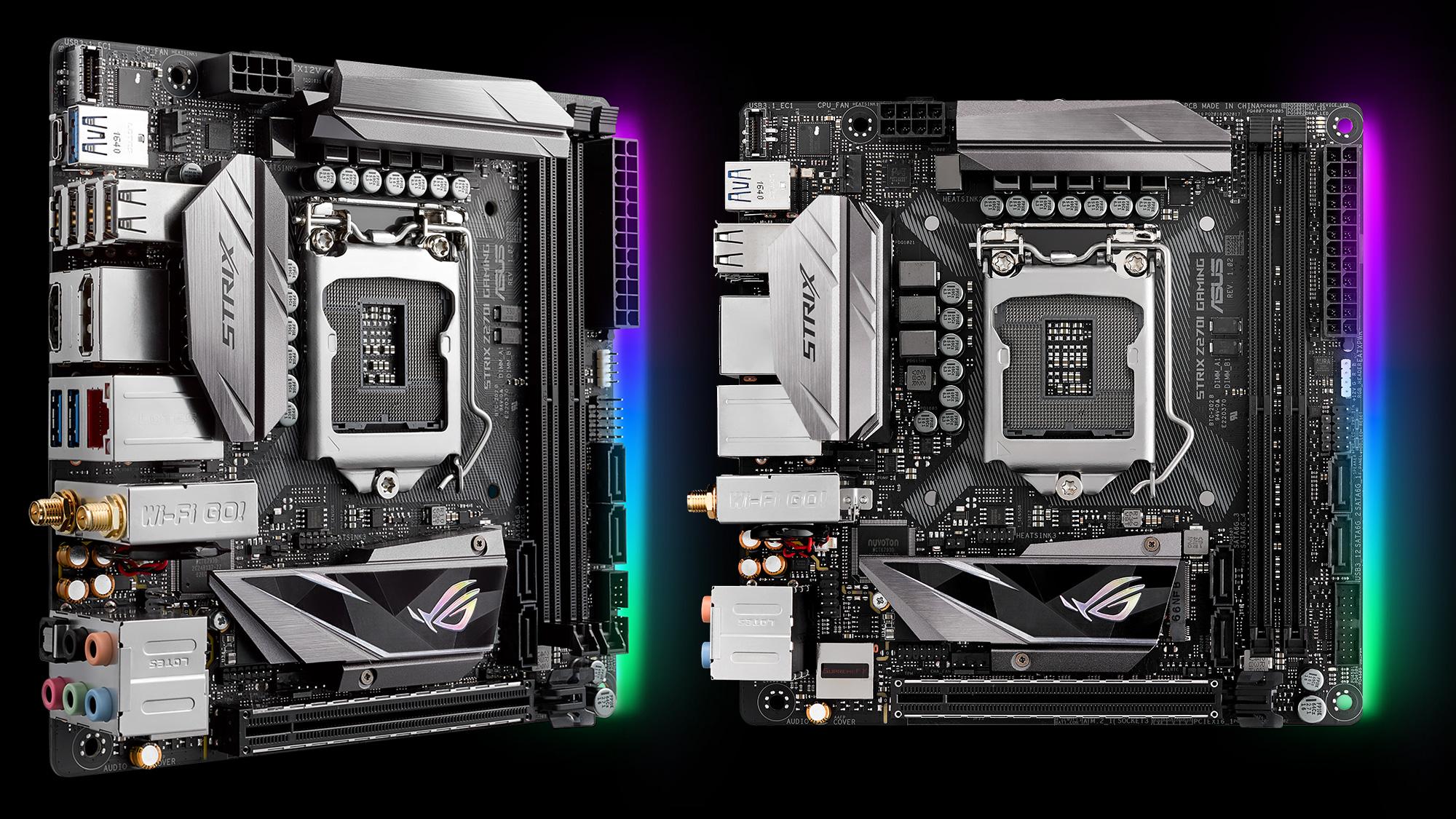 ROG Strix Z270I Gaming Estas son las nuevas motherboards Z270 de ASUS
