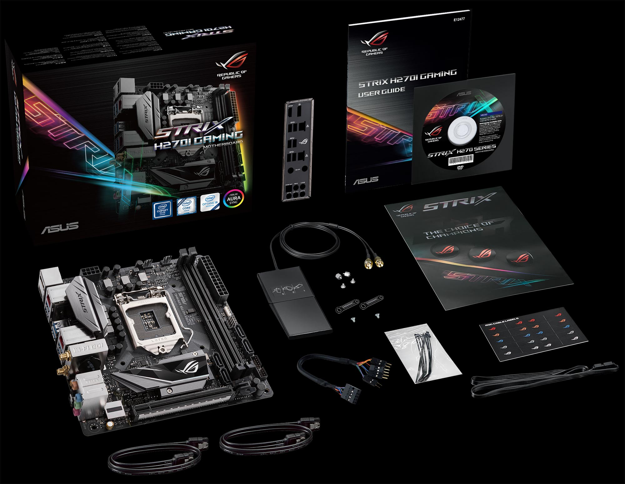 Shrink your PC with the ROG Strix H270I and B250I Gaming Mini-ITX motherboards | ROG - Republic ...