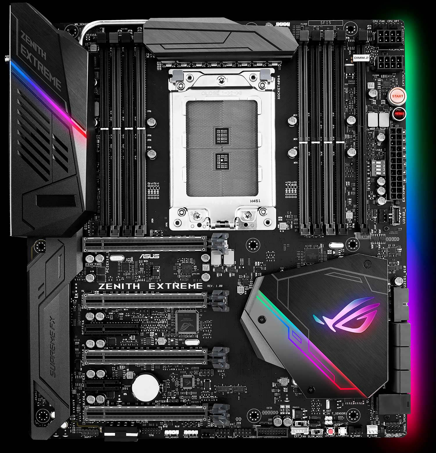 ROG's Zenith Extreme motherboard is coming for AMD's monster