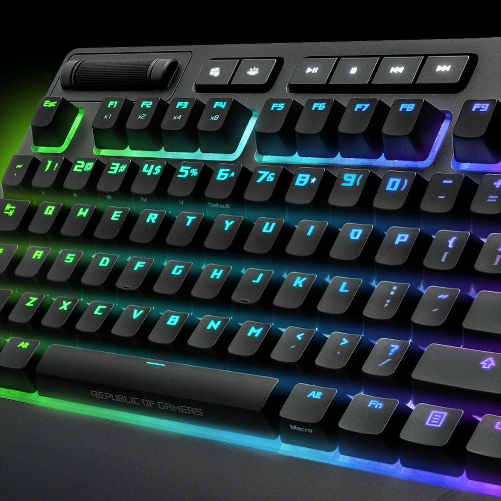 Image result for Strix Flare RGB keyboard