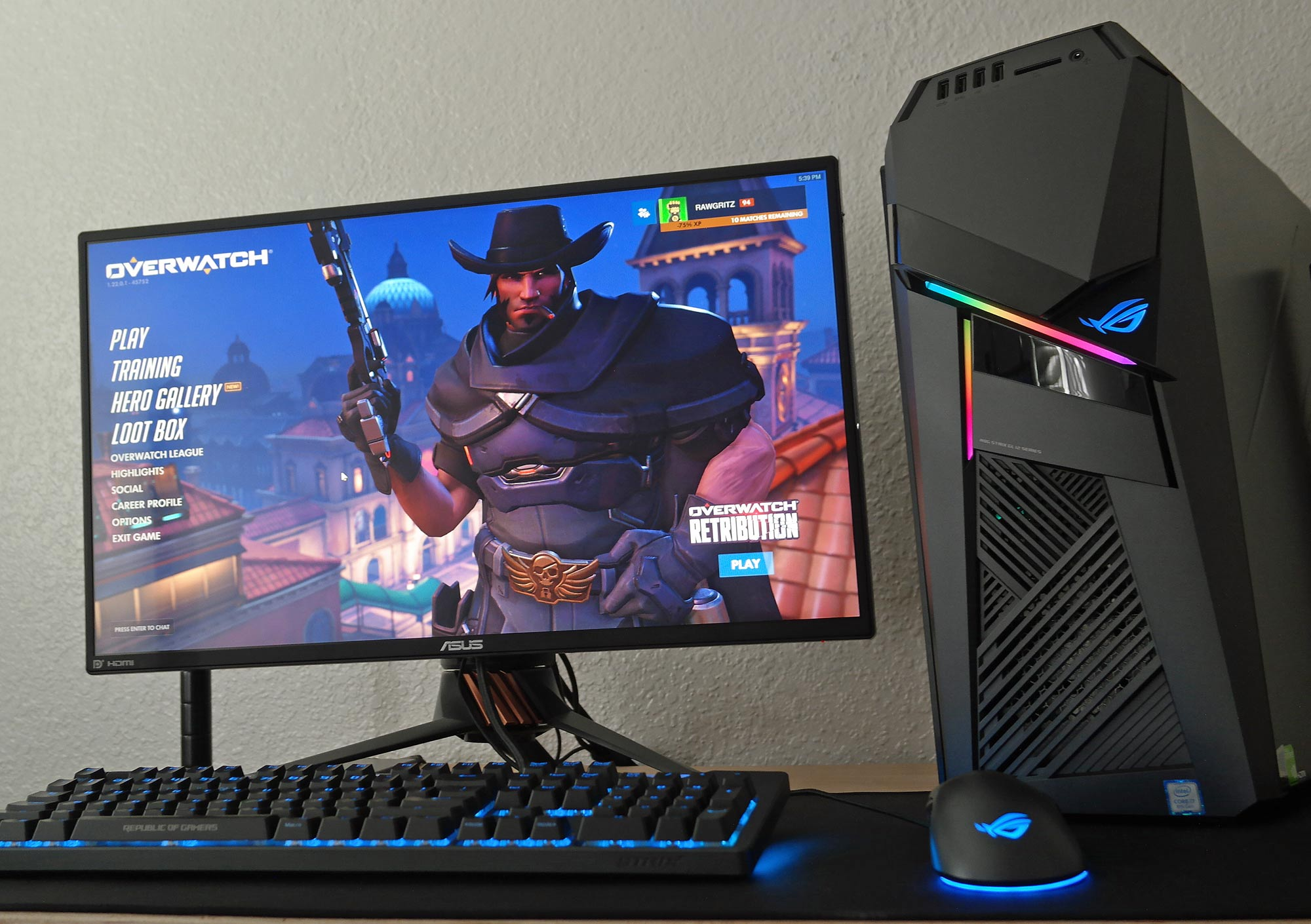The ROG Strix GL12 brings tournament-grade performance in a compact