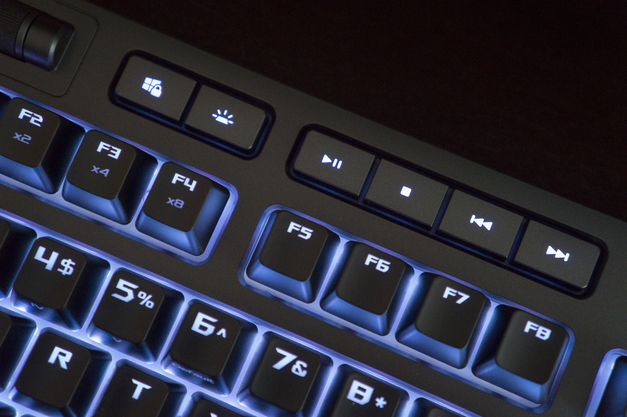 The ROG Strix Flare is a customizable keyboard that you can