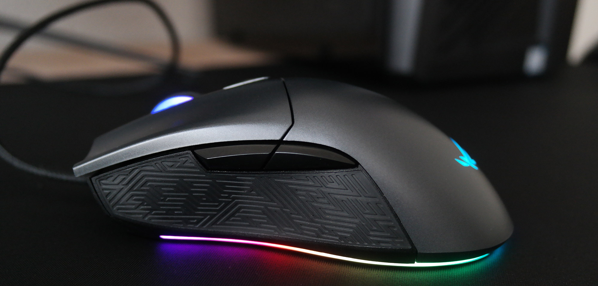 Switched on: The ROG Gladius II Origin gaming mouse is a